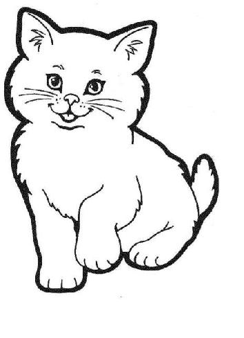 Comment dessiner 1 chat - Un chat dessin ...