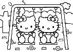 Balancoire Hello Kitty