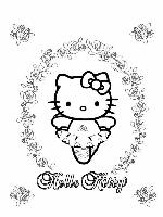 Hello kitty en danseuse