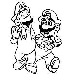 Coloriage Mario Bros Coloriages Dessin à