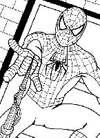 Spiderman lance sa toile